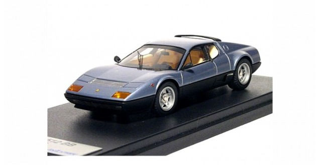 Ferrari 512 BB 1976 Metallic Sky Blue 1:43 LookSmart LS294C