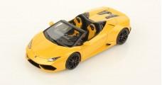 Lamborghini Huracán LP 610-4 Spyder Frankfurt Motorshow 2015 Yellow 1:43 LookSmart LS452D