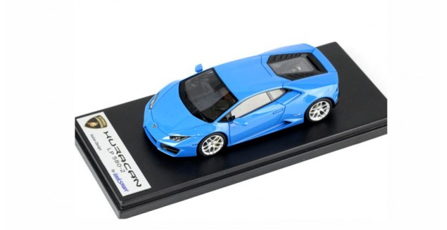 Lamborghini Huracan LP580-2 2015 Blue Le Mans 1:43 LookSmart LS455E