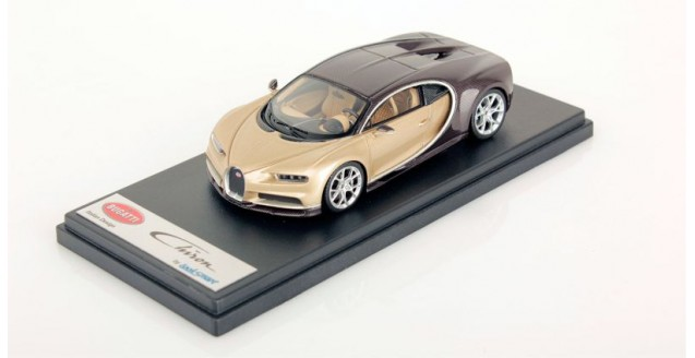 Bugatti Chiron Brown Carbon / Silk 1:43 LookSmart LS459G