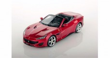Ferrari Portofino 2017 Open Roof Roso Red 1:43 LookSmart LS480SA