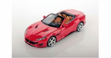 Ferrari Portofino 2017 Open Roof Rosso Red 1:43 LookSmart LS480SE