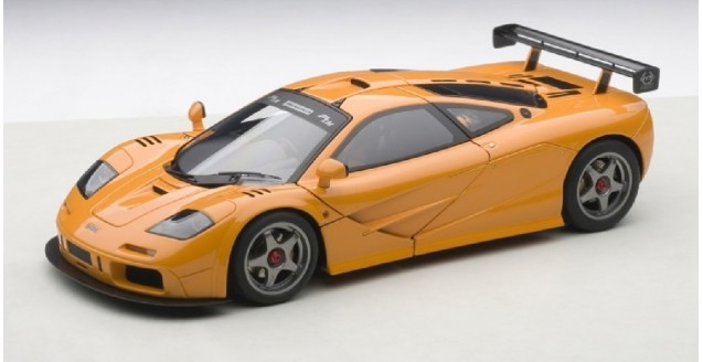 MC Laren LM Edition Orange 1:18 AUTOart 76011