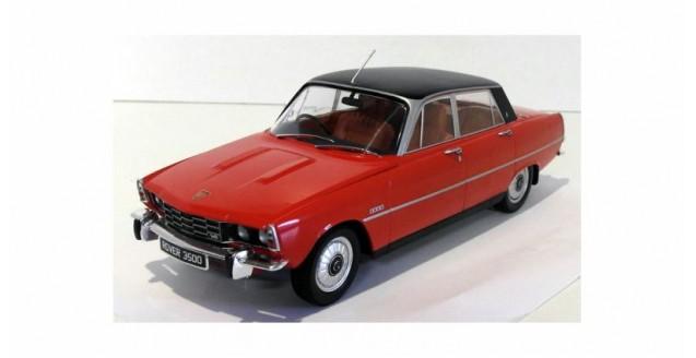 1:18 microg Rover 3500 v8 policía metropolitana 1974 crema//red//Yellow
