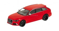 Audi RS6 Avant Red 1:43 Minichamps 410011310