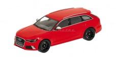 Audi RS6 Avant Red 1:43 Minichamps 410011310