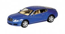 Bentley Continental Gt Blue 1:43 Minichamps 436139022