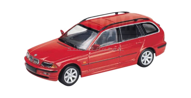 Minichamps BMW I Touring Red - Bmw 328i red