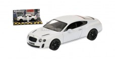 Bentley Continental super sports 2009 Top Gear Edition White 1:43 Minichamps 519431390