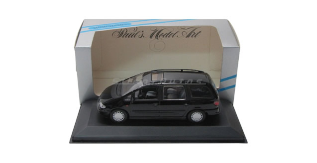 Ford Galaxy 1995 Black 1:43 Minichamps 430084060