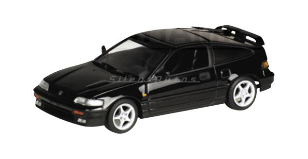 Honda CR-X Coupe Black 1:43 Minichamps 430161520
