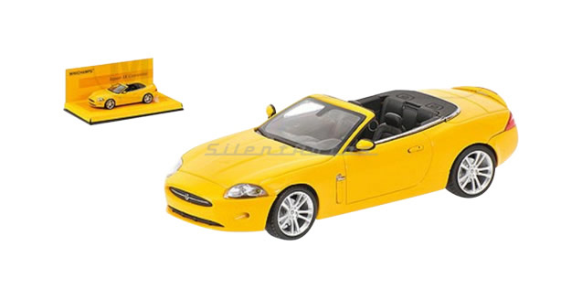 Minichamps Jaguar XK Convertible Yellow 1:43 Minichamps 436130530