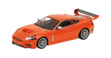 Jaguar Scale XKR GTS Orange 1:18 Minichamps 081391