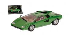 Lamborghini Countach LP400 1974 Green 1:43 Minichamps 436103100