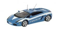 Lamborghini Gallardo Polizia Blue 1:43 Minichamps 400103590