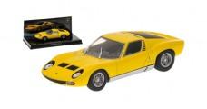 Lamborghini Miura P400 SV Yellow 1:43 Minichamps 436103650