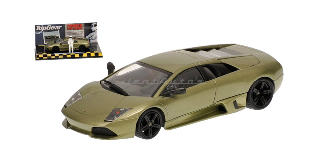 Lamborghini Murcielago Lp 640 Top Gear Green 1:43 Minichamps 519431032