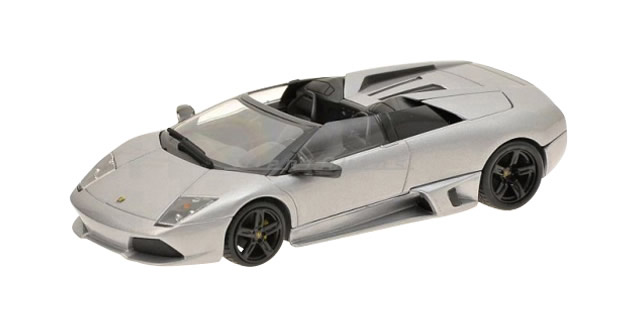 Lamborghini Murcielago LP640 Roadster Met Grey 1:43 Minichamps 400103931