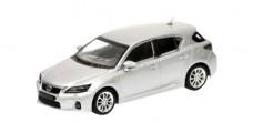 Lexus CT200H Silver 1:43 Minichamps 410166001