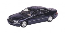 Mercedes CL 500 coupe Blue 1:43 Minichamps 430038021
