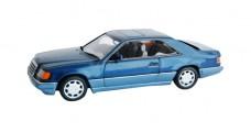 Mercedes E-class coupe Blue 1:43 Minichamps 430033521