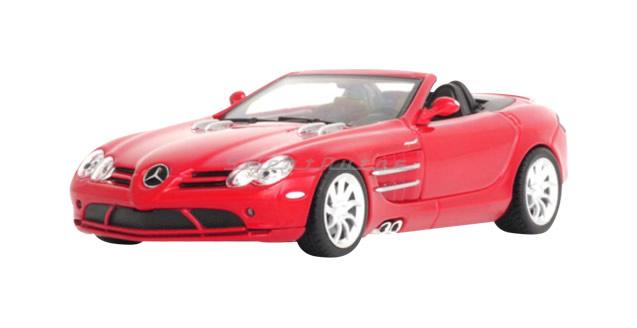 Mclaren Mercedes SLR Roadster Red 1:43 Minichamps 037131