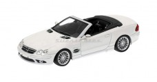 Mercedes-Benz SL55 AMG R270 White 1:43 Minichamps 400036170