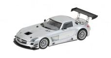 Mercedes Benz SLS AMG GT3 Silver 1:43 Minichamps 410113202