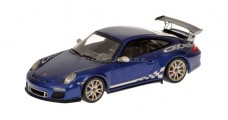 Porsche 911 GT3 RS Blue 1:43 Minichamps 400069101