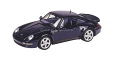 Porsche 911 Turbo Blue 1:43 Minichamps 430039201