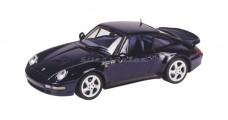 Porsche 911 Turbo Blue 1:43 Minichamps 430039201