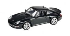 Porsche 911 Turbo Green 1:43 Minichamps 430069202