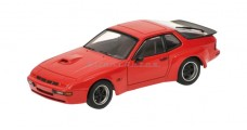 Porsche 924 Carrera GT Red 1:43  Minichamps 400066120