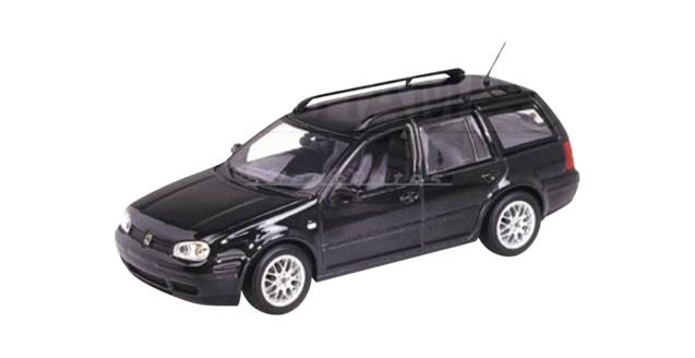 Volkswagen Golf Variant Black 1:43 Minichamps 430056010