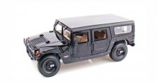 Hummer H1 Wagon Black 1:18 Maisto 36858