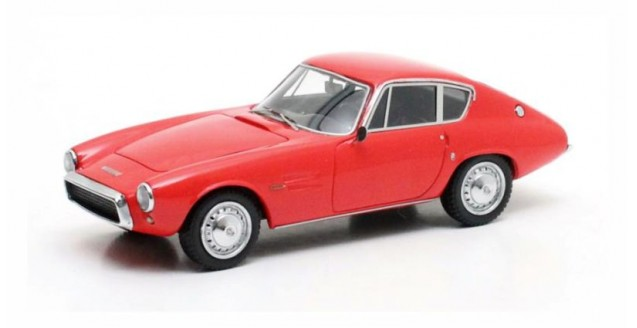 Ghia 1500 GT Coupe Red 1:43 Matrix MX10701-021