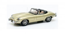Jaguar E-Type SII Roadster 1970 Light Gold 1:43 Matrix MX11001-041