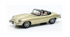 Jaguar E-Type SII Roadster 1970 Light Gold 1:43 Matrix MX11001-041