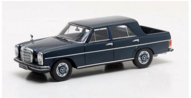 Binz MB W115 Pick-Up Double Cabin 1972 Blue 1:43 Matrix MX11302-025