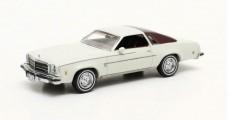 Chevrolet Chevelle Malibu Hardtop white 1974 Beige 1:43 Matrix MX20302-322