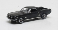 Ford Mustang Mustero Pick Up Year 1966 Black 1:43 Matrix MX20603-111