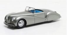 Alfa Romeo Tipo 256 Cabriolet Sportiva Pinin Farina 1939 Gun Metal Grey 1:43 Matrix MX40102-021