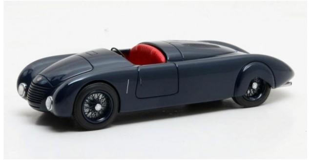 Alfa Romeo 6C 2300 Aerodinamica Year 1934 Blue 1:43 Matrix MX40102-071