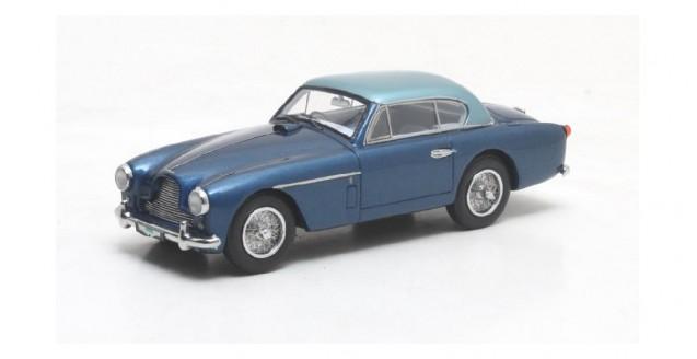 Aston Martin DB2-4 FHC Notchback metallic blue 1955 1:43 Matrix MX40108-041