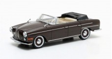 BMW 502 3200 V8 Super Cabriolet year 1959 Dark Brown 1:43 Matrix MX40202-071