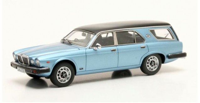 Jaguar XJ SIII Estate Ladbroke Avon Metallic Blue 1980 1:43 Matrix MX41001-072