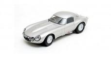 Diecast E-Type Jaguar Low Drag Coupe 1963 Silver 1:43 Matrix MX41001-081
