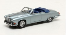 Jaguar 420 Harold Radford Convertible Year 1967 Grey Metallic 1:43 Matrix MX41001-091