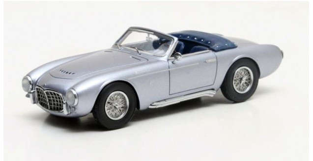 Maserati A6GCS Frua Spider Year 1957 Blue Grey 1:43 Matrix MX41311-021