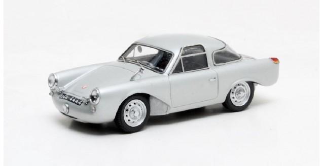 Glöckler Porsche 356 Special Coupe silver 1954 1:43 Matrix MX41607-041